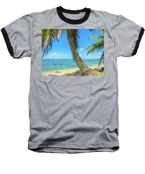 Kauai Tropical Beach Baseball T-Shirt