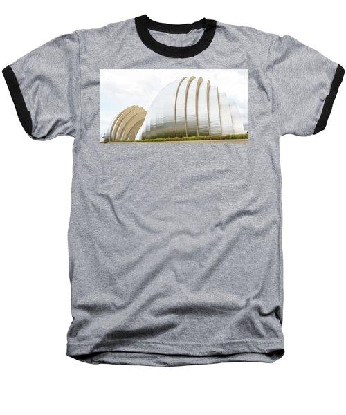 Kauffman Center Performing Arts Baseball T-Shirt by Pamela Williams