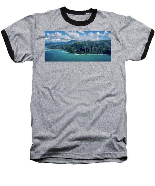 Kawaii Na Pali Coast  Baseball T-Shirt