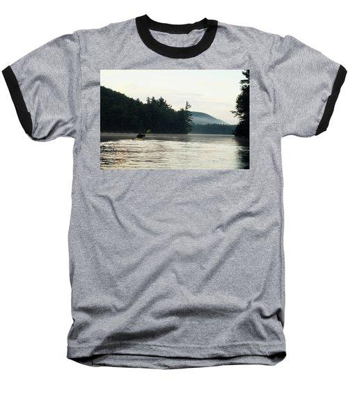 Kayak In The Fog Baseball T-Shirt
