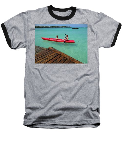 Kayaking Perfection 1 Baseball T-Shirt