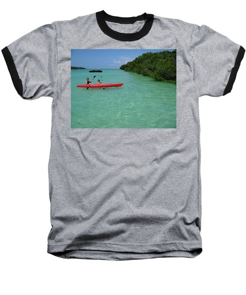 Kayaking Perfection 2 Baseball T-Shirt