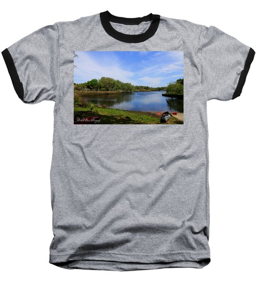 Kayaking The Cotee River Baseball T-Shirt