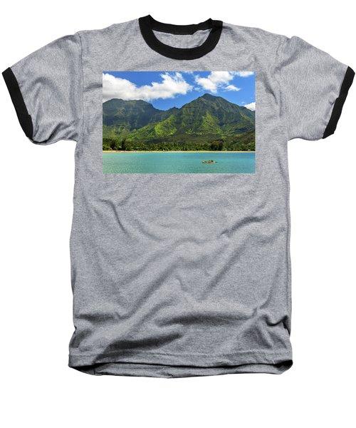 Kayaks In Hanalei Bay Baseball T-Shirt
