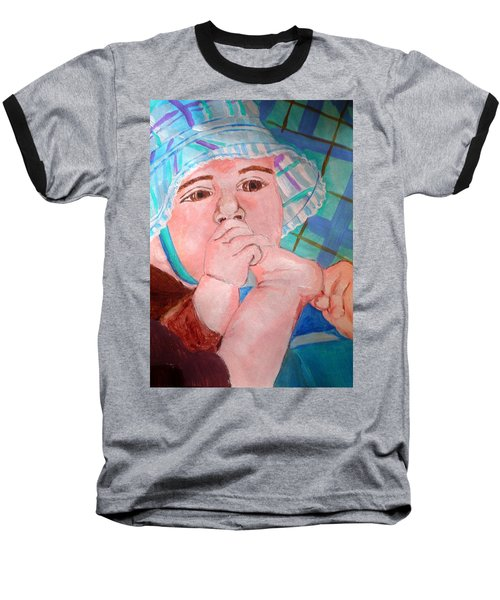 Kaylie Baseball T-Shirt by Josie Weir