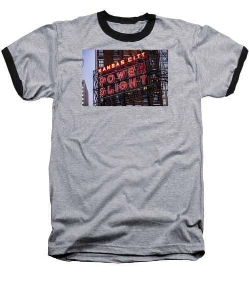 Kc Power And Light Baseball T-Shirt