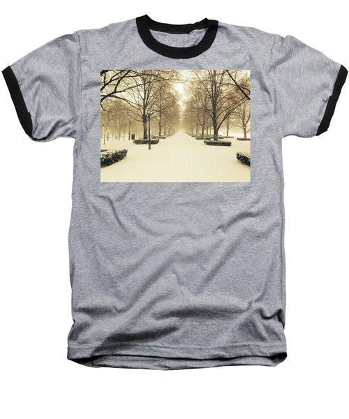 Kc Snow With Parisian Flare Baseball T-Shirt