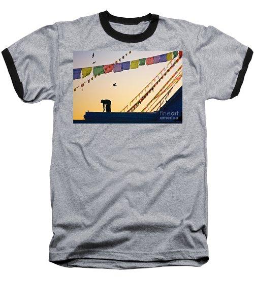 Kdu_nepal_d113 Baseball T-Shirt by Craig Lovell