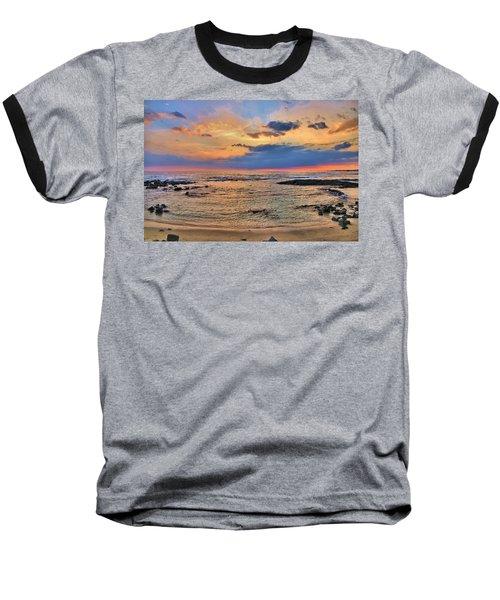 Baseball T-Shirt featuring the photograph Keahuolu Point by DJ Florek