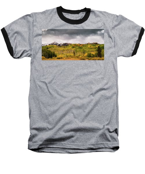 Baseball T-Shirt featuring the photograph Kebler Pass by Stephen Holst