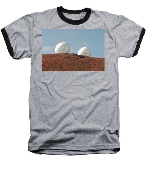 Keck 1 And Keck 2 Baseball T-Shirt by Jim Thompson