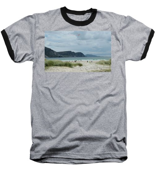 Keel Beach Achill  Baseball T-Shirt