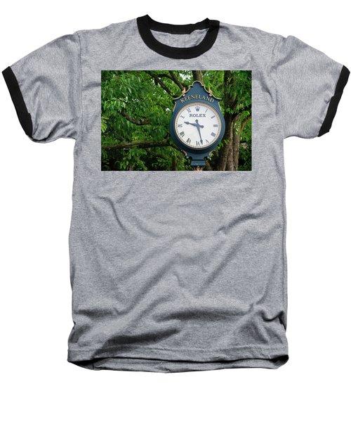 Keeneland Clock Baseball T-Shirt
