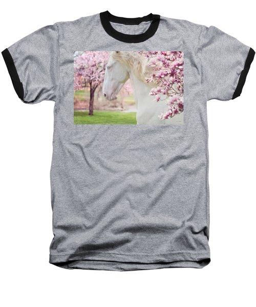 Keep Calm Spring Is Coming Baseball T-Shirt