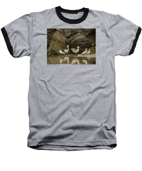 Baseball T-Shirt featuring the photograph Keep On Dancing by Rob Wilson