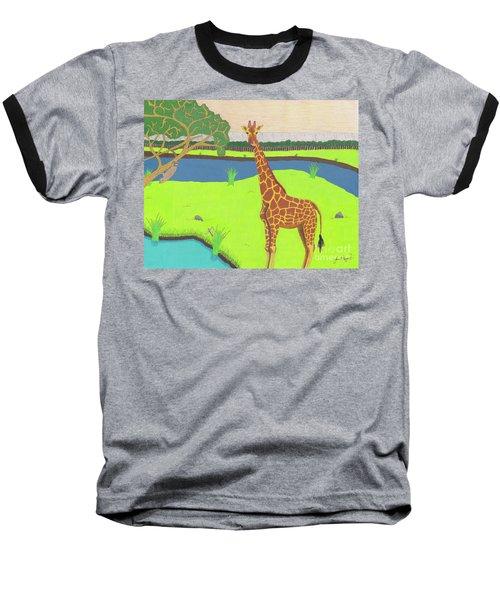 Keeping A Lookout Baseball T-Shirt