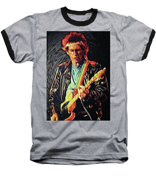 Keith Richards Baseball T-Shirt