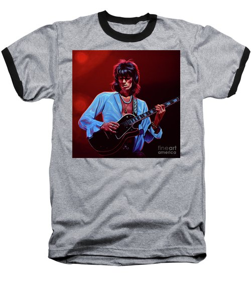 Keith Richards The Riffmaster Baseball T-Shirt