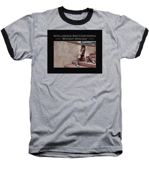 Kellie Peach 10-204 Baseball T-Shirt by David Miller
