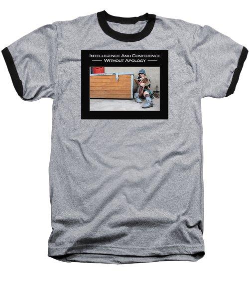 Kellie Peach 4-60 Baseball T-Shirt by David Miller