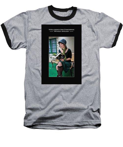 Kellie Peach 5-69 Baseball T-Shirt by David Miller