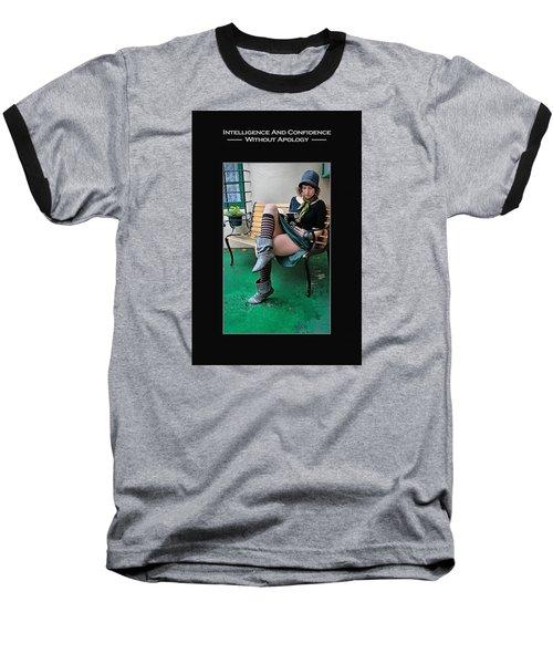 Kellie Peach 6-73 Baseball T-Shirt by David Miller