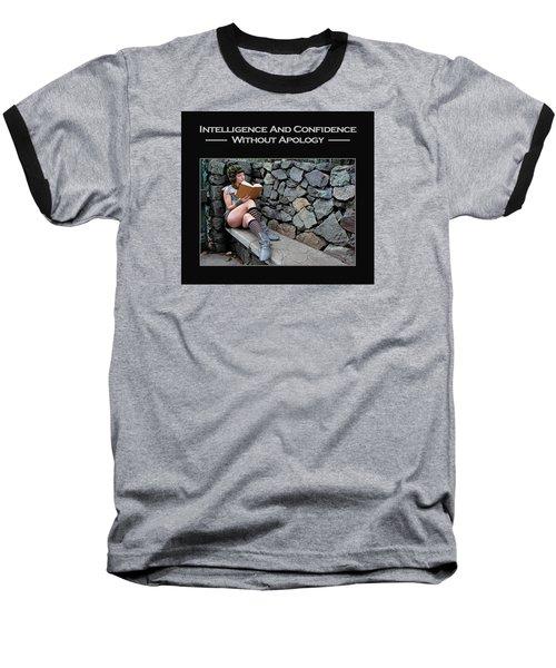 Kellie Peach 8-124 Baseball T-Shirt by David Miller