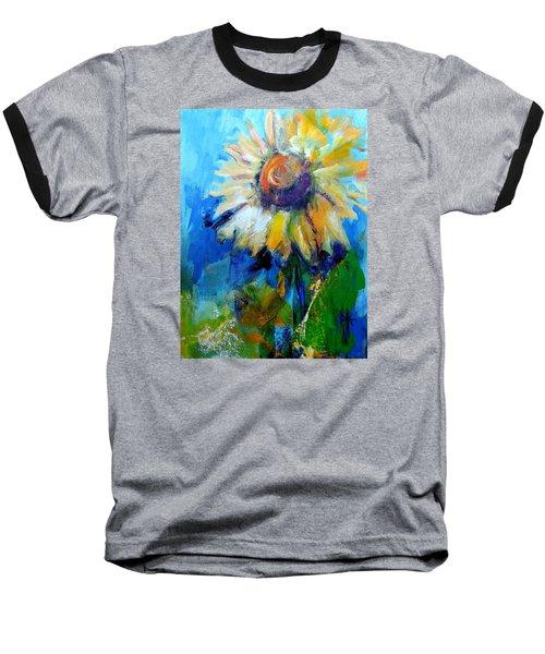 Kellie's Sunflower Baseball T-Shirt