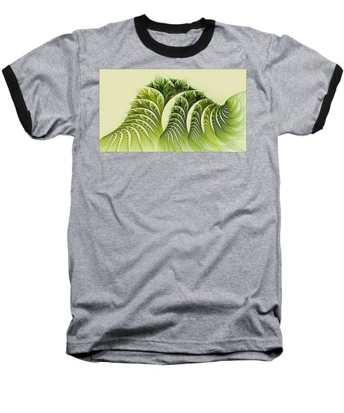 Kelp Towers Of The Fractal Sea Baseball T-Shirt