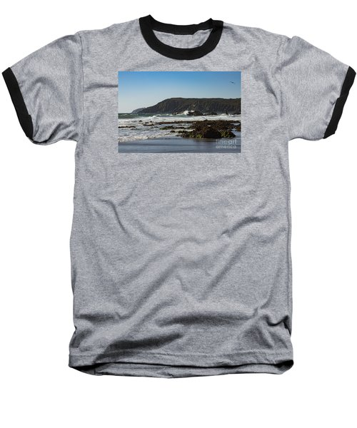 Baseball T-Shirt featuring the photograph Kennack Sands by Brian Roscorla