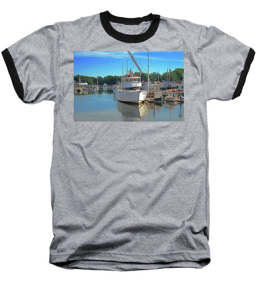 Baseball T-Shirt featuring the photograph Kennebunk, Maine - 2 by Jerry Battle