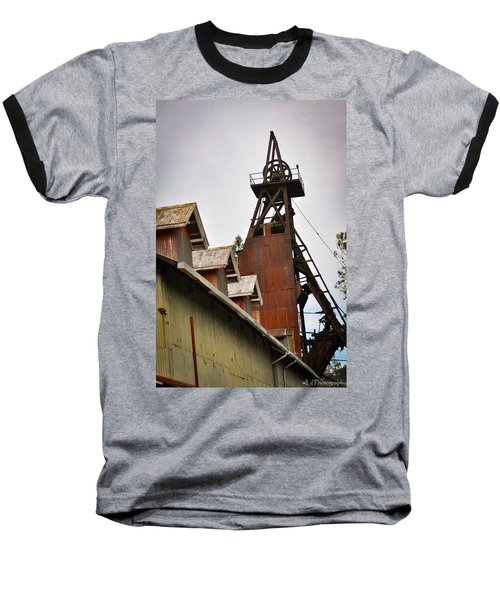 Kennedy Mine Headframe Baseball T-Shirt