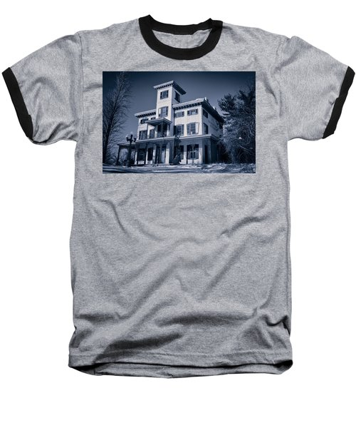 Kennedy-supplee Mansion Baseball T-Shirt