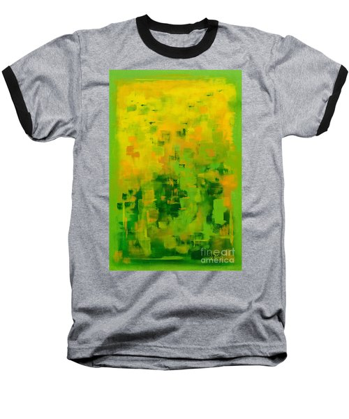 Baseball T-Shirt featuring the painting Kenny's Room by Holly Carmichael