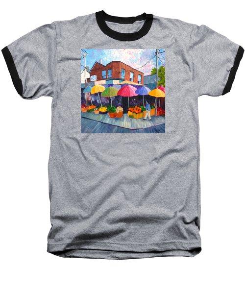 Kensington Market Baseball T-Shirt by Diane Arlitt