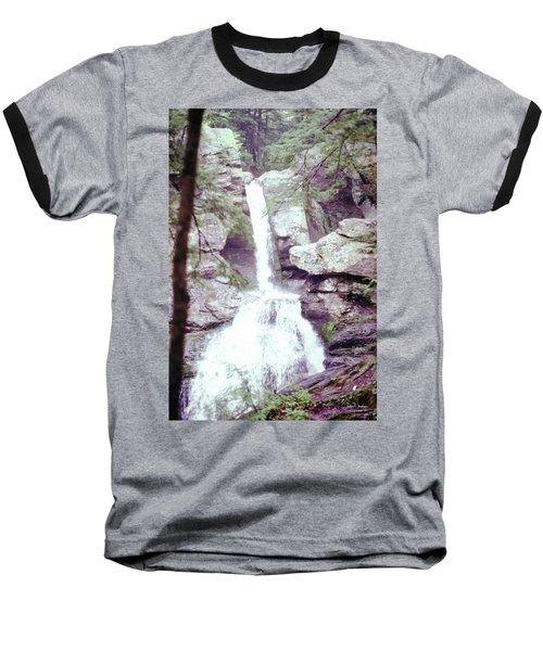 Kent Falls 3 Baseball T-Shirt