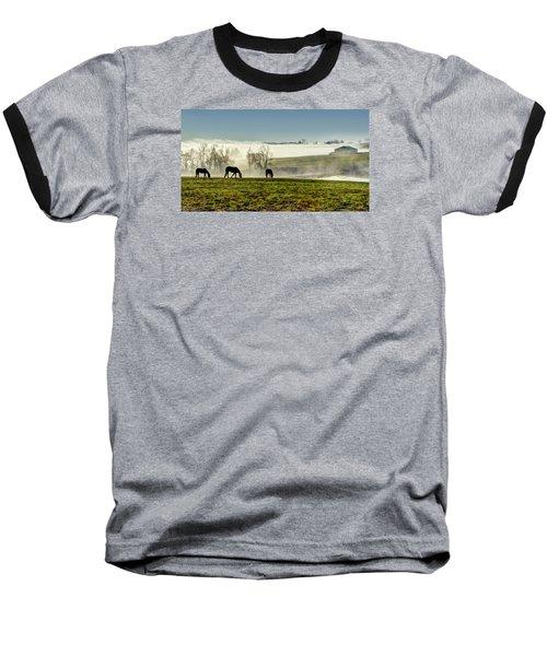 Kentucky Bluegrass Morning #1 Baseball T-Shirt