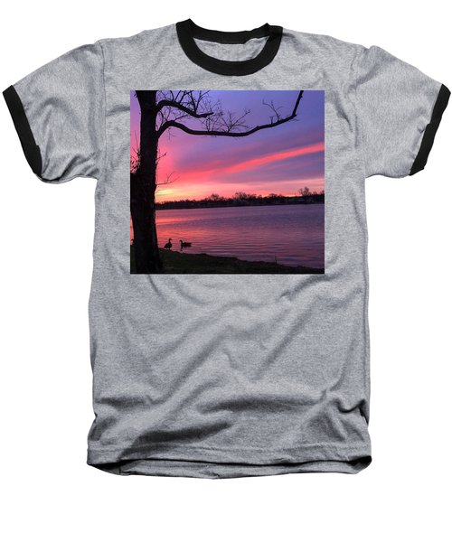 Kentucky Dawn Baseball T-Shirt by Sumoflam Photography