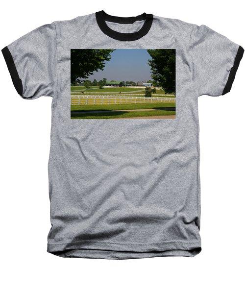 Kentucky Horse Park Baseball T-Shirt by Kathryn Meyer