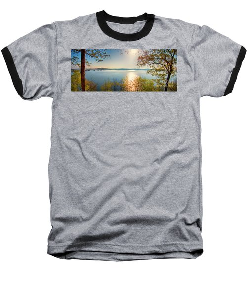 Baseball T-Shirt featuring the photograph Kentucky Lake by Ricky L Jones