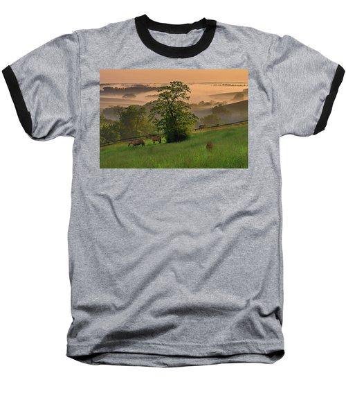 Kentucky Morning Sunshine. Baseball T-Shirt by Ulrich Burkhalter