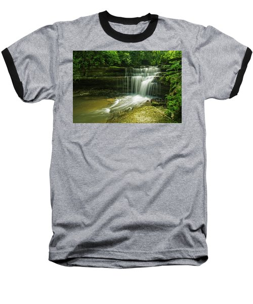 Kentucky Waterfalls Baseball T-Shirt by Ulrich Burkhalter