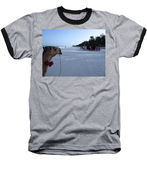 Kenya Wedding On Beach Distance Baseball T-Shirt
