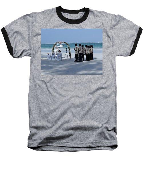 Kenya Wedding On Beach Singers Baseball T-Shirt