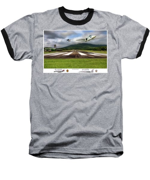 Kep Field Air Show Baseball T-Shirt by Peter Chilelli