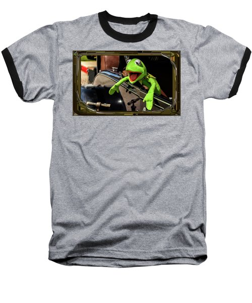 Kermit In Model T Baseball T-Shirt