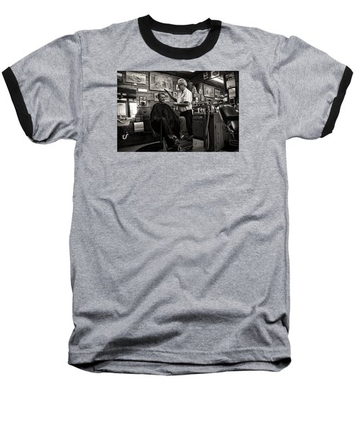 Kernville Barber Shop Baseball T-Shirt