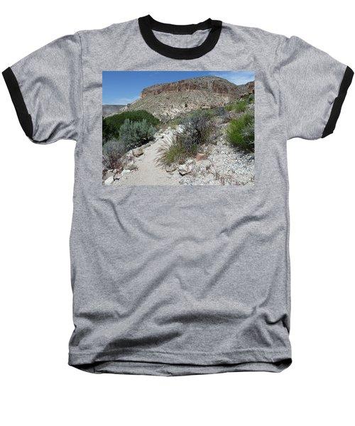 Kershaw-ryan State Park Baseball T-Shirt by Joel Deutsch