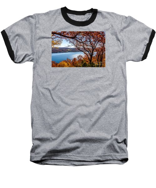 Keuka Lake Vista Baseball T-Shirt