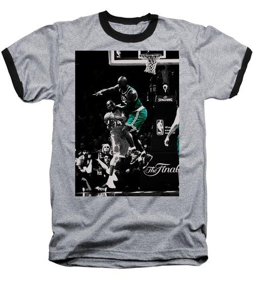 Kevin Garnett Not In Here Baseball T-Shirt by Brian Reaves